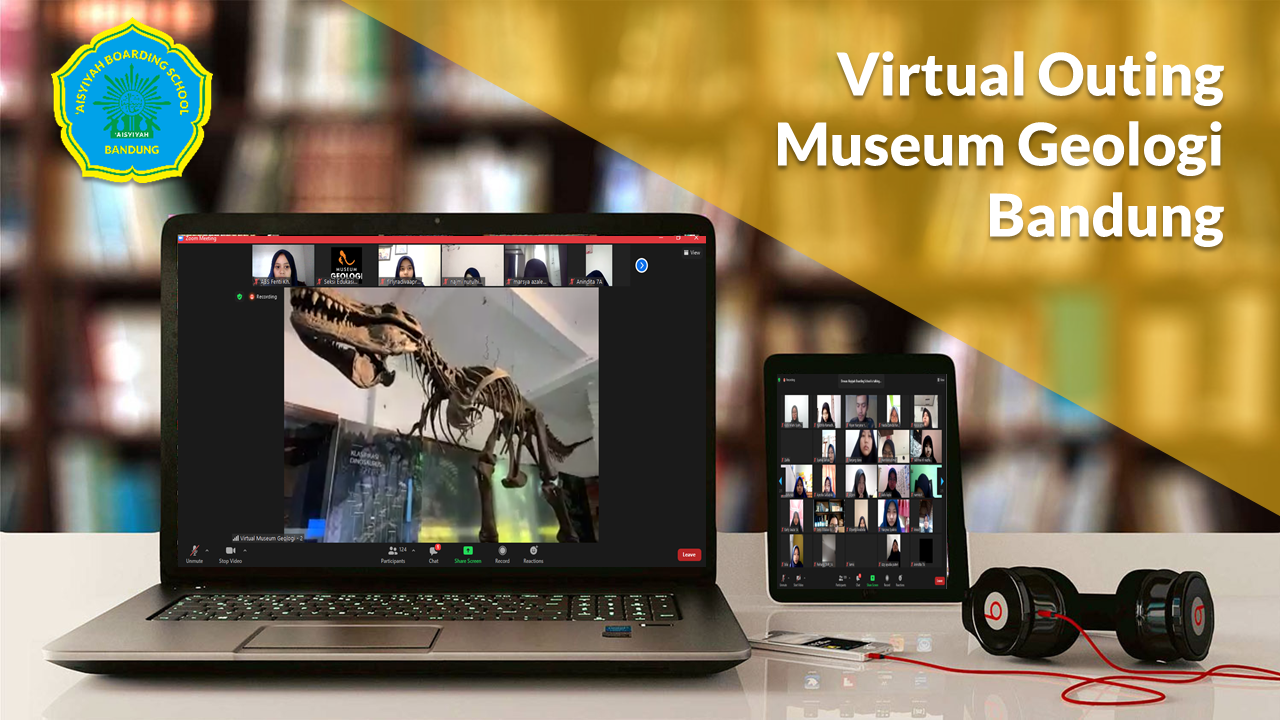 Outing Class Virtual ke Museum Geologi